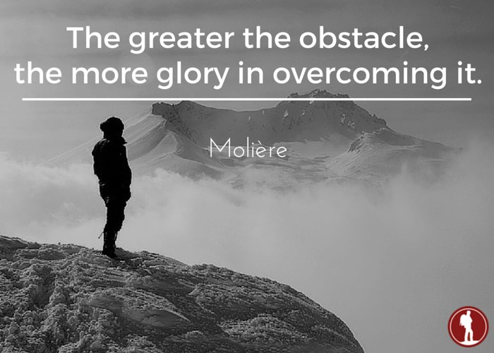 Overcoming lifes obstacles